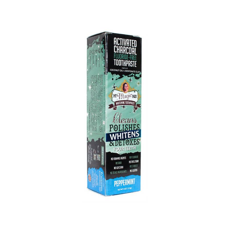 Peppermint Charcoal Whitening Toothpaste