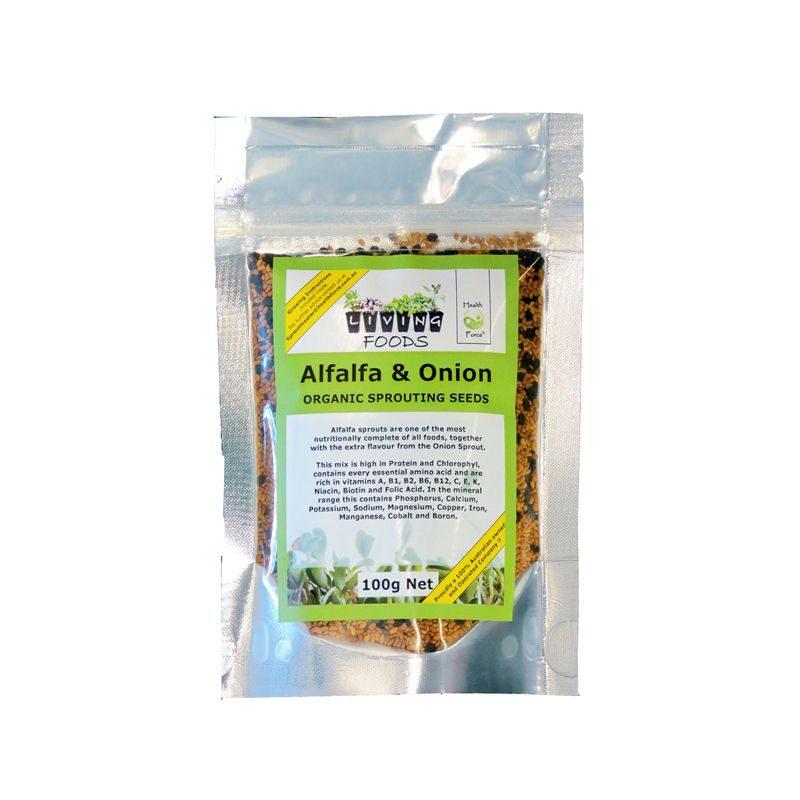 alfalfa and onion 100g