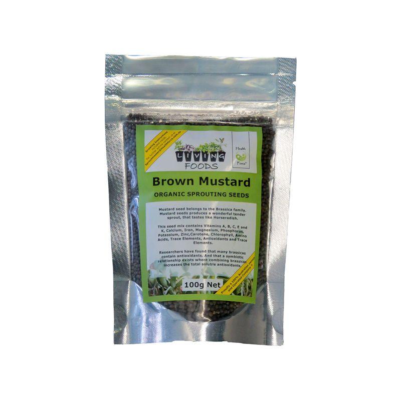 brown mustard seeds 100g