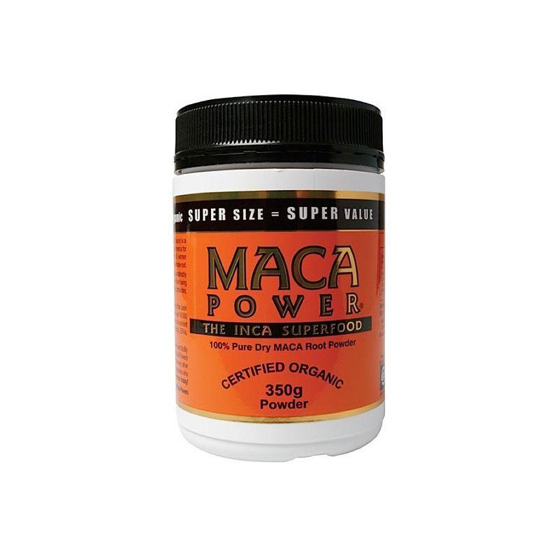 maca power bottle