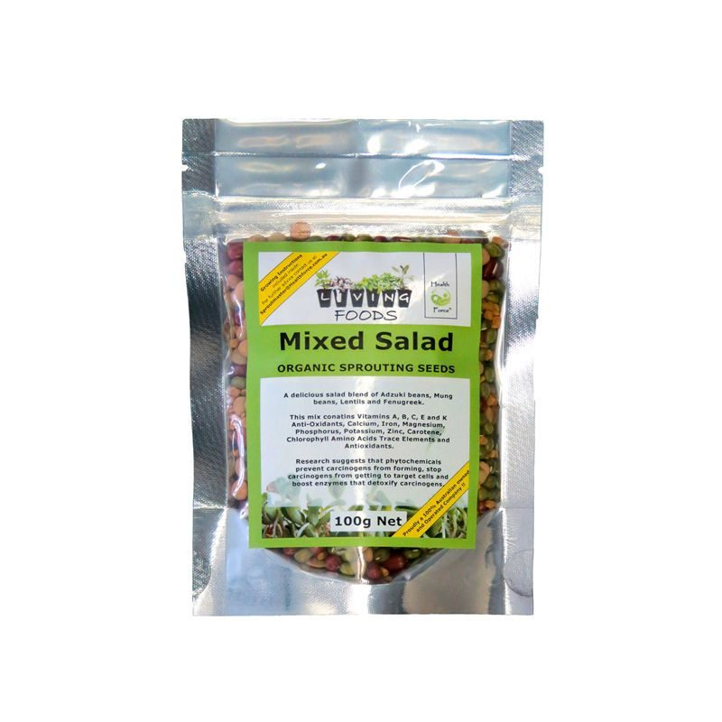 mixed salad 100g seeds