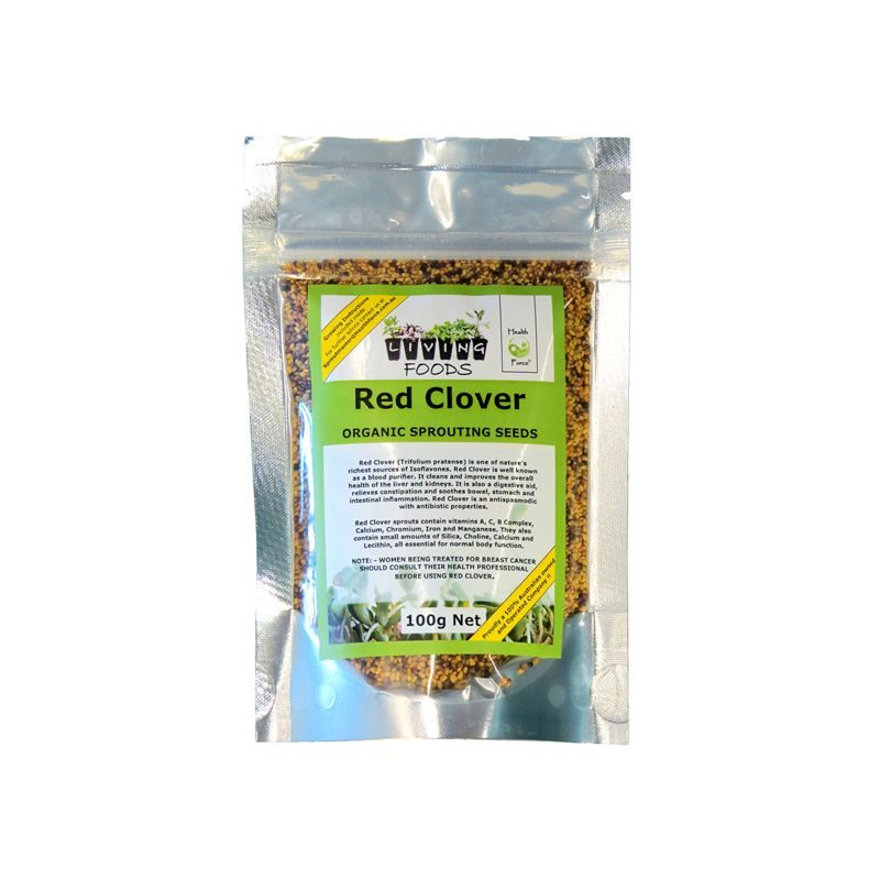 red clover seeds 100g