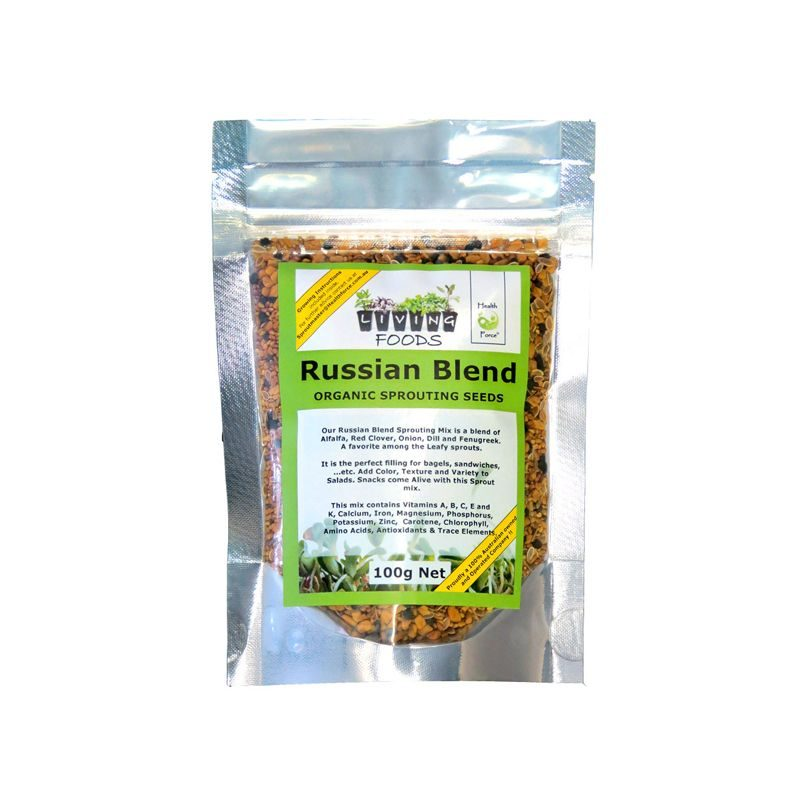 russian blend sprouting seeds 100g