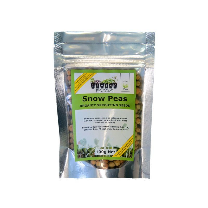 snowpeas sprouting seeds100g