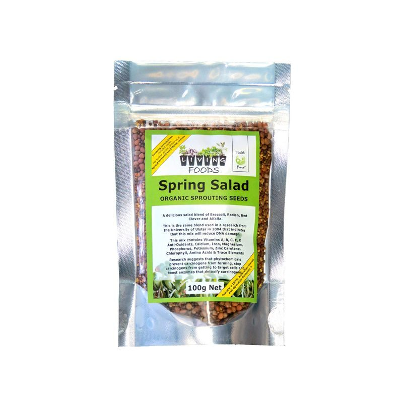 spring salad sprouting seed mix 100g
