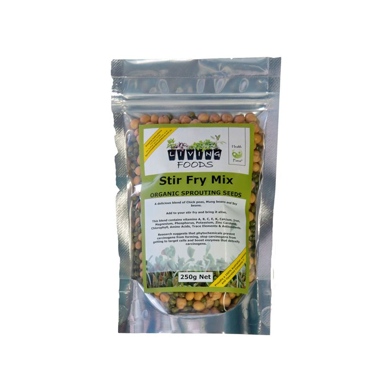 stirfry sprouting seed mix 100g