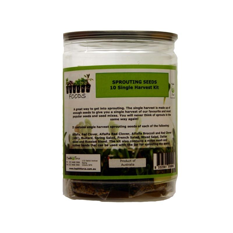 Single Harvest Kit glass